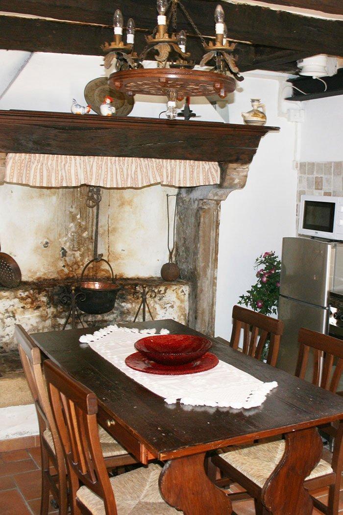 Dettaglio cucina Casa di Gaia